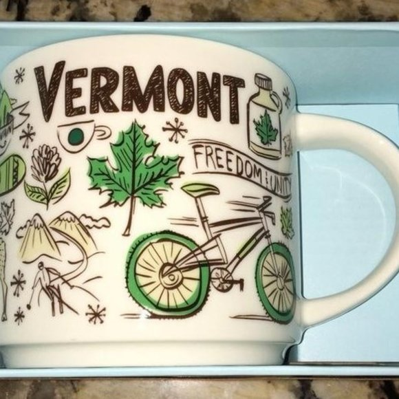Starbucks Other - Vermont Starbucks Mug Coffee Cup Been There Series